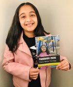 കോവിഡ്-19 മഹാമാരിയെക്കുറിച്ചുള്ള 10 വയസ്സുകാരിയുടെ കവിത പ്രസിദ്ധീകരിച്ചു