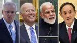 മോദി, ബൈഡന്, മോറിസൺ, സുഗ 'ക്വാഡ്' ഉച്ചകോടിയില്; അസ്വസ്ഥരായി ചൈന