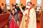 സോമര്സെറ്റ് സെന്റ്  തോമസ് സീറോ മലബാര് ദേവാലയത്തിലെ വിശുദ്ധ വാരാചരണം ഓശാന തിരുനാള് ആഘോഷത്തോടെ ആരംഭിച്ചു