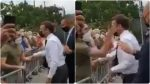 Macron slapped by man during trip to southeast France